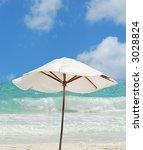 tropical beach scenic | Shutterstock . vector #3028824