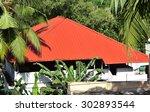 Metallic Roof On The Terrace Of ...