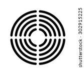 speaker grille concentric lines ...