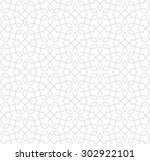 intersecting curved elegant... | Shutterstock .eps vector #302922101