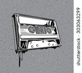 Vector Audio Cassette In...