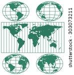 illustration of the various... | Shutterstock .eps vector #303073211