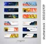 business design templates. set... | Shutterstock .eps vector #303101939