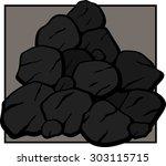 coal | Shutterstock .eps vector #303115715