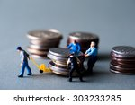 money and human | Shutterstock . vector #303233285