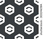 image of exchange symbol in...   Shutterstock .eps vector #303246584