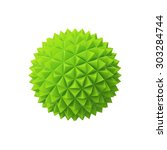 abstract sphere with triangular ... | Shutterstock . vector #303284744