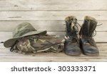 Military Caps Military Boots...