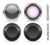 four abstract technology buttons | Shutterstock .eps vector #303343457