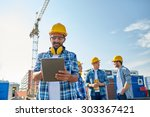 business  building  industry ... | Shutterstock . vector #303367421