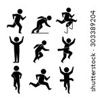 sport digital design  vector... | Shutterstock .eps vector #303389204