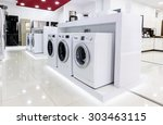 washing machines  refrigerators ... | Shutterstock . vector #303463115