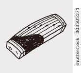 zither doodle | Shutterstock . vector #303505271
