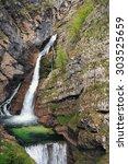 Savica Falls  Slovenia