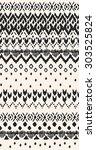 seamless ethnic   tribal... | Shutterstock .eps vector #303525824