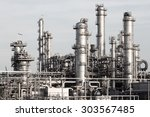 pipelines of a oil and gas... | Shutterstock . vector #303567485