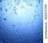 oil bubbles in water | Shutterstock . vector #303571799