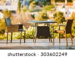 Home Exterior With Table And...