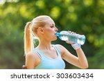 drink. | Shutterstock . vector #303603434