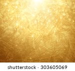 gold textured background.... | Shutterstock .eps vector #303605069