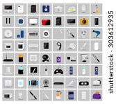 various objects and appliances...