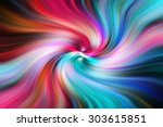 Abstract Twirl Stripes Pattern...
