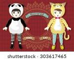 Dress Up Doll   Animals Panda...