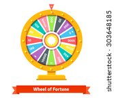 Wheel Of Fortune With Number...