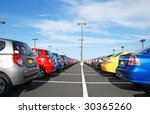 car dealer - stock photo
