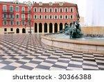 Plaza Massena Square In The...