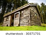 Log Cabin In Wood