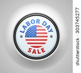 labor day sale | Shutterstock . vector #303745277