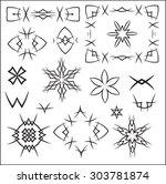 decorative design elements.   Shutterstock .eps vector #303781874