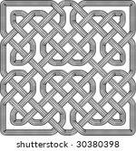celtic knot illustration ... | Shutterstock . vector #30380398