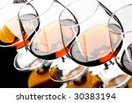 drink series  three glasses of... | Shutterstock . vector #30383194