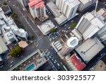modern city crossroad  modern...   Shutterstock . vector #303925577