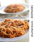 Spaghetti With Tomato And Spices