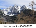 Mountains High Tatry In Snow...