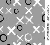 vector seamless abstract...   Shutterstock .eps vector #304028147