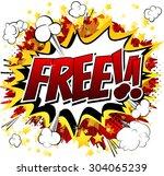 free   comic book style word...