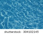 texture background of water in... | Shutterstock . vector #304102145