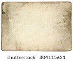 old vintage paper album... | Shutterstock . vector #304115621