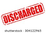 Discharged Red Stamp Text On...