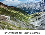 The Famous Stelvio Pass Road I...