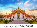 the marble temple  wat... | Shutterstock . vector #304136687