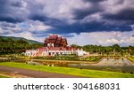 ho kham luang at royal park... | Shutterstock . vector #304168031