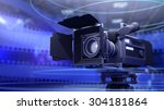 camera for movie and film | Shutterstock . vector #304181864