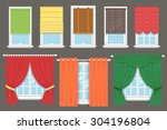 vector collection of various...   Shutterstock .eps vector #304196804