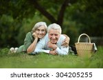Portrait Of Amusing Old Couple...