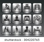 health care and medical... | Shutterstock .eps vector #304220765